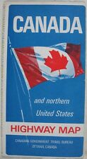 Collectible Canadian Maps EBay - 1967 interstate highway map us