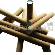 20 x A3 / A4 postali poster tubi rotoli 330mm x 45 mm
