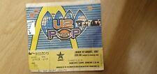 U2 POPMART TOUR CONCERT TICKET / STUB 22ND AUG 1997