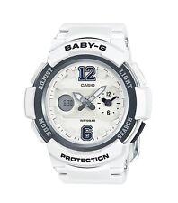 Casio Baby-G * BGA210-7B1 Dual Dial White Anadigi Women COD PayPal
