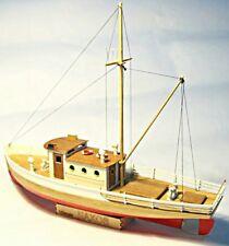 kit nave in legno modello barca da pesca a vela scatola di montaggio scala 1/50