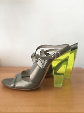 Costume National Womans Sandals Size 3