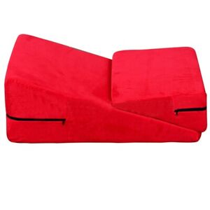 Mattress Wedge Ramp Positional Pillow Combo for Intimacy or Medical Aid