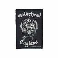 MOTORHEAD - ENGLAND PATCH - Official Sew On Patch - NEW - METAL