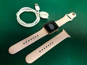 Apple Watch Series 4 40mm Gold Aluminium Case Pink Sand Sport Band GPS Cellular