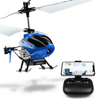 Cheerwing U12S Mini RC Helicopter Camera Remote Control Helicopter for Kid Adult