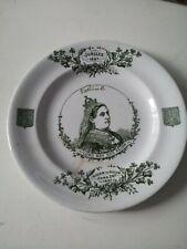 Queen Victoria Golden Jubilee plate 1887