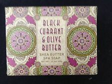 GREENWICH BAY SOAP/ BLACK CURRANT & OLIVE BUTTER SHEA SPA SOAP 10.5 OZ