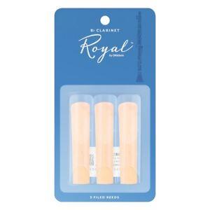 Rico Royal Bb Clarinet Reeds 3 Pack - Size 1.5