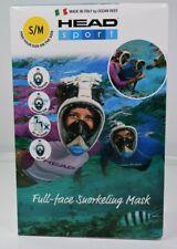 HEAD Sport Full-face Snorkeling Mask Ocean Reef Size S/M