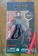 Hashbro Star Wars Black Series Darth Nihilus 6 inch Action Figure