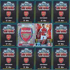 Match Attax 2015 2016 Football (Soccer) Single Cards Arsenal - Various Players