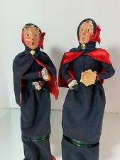 Byers Choice Salvation Army Carolers   1992 & 1995