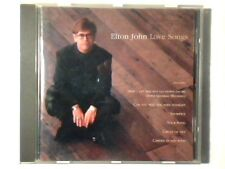 ELTON JOHN Love songs cd FRANCE
