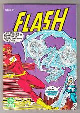 *** FLASH _ Album n° 1 (1+2) *** Nouvelle Formule - 1983 - Arédit DC // Q. NEUF