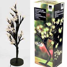 Lichterbaum- Licht- Leuchte -Lampe- 48er LED Baum mit Blüten