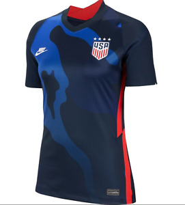 M  Nike USWNT Soccer Jersey Away 2020-21 CD0907-475 Womens Size Medium