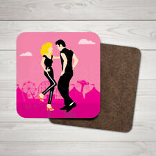 Grease Movie Wooden Glossy Coaster