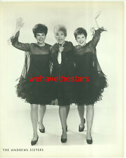 VINTAGE The Andrew Sisters EARLY 60s Publicity Portrait