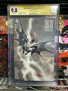DARK KNIGHT III: THE MASTER RACE #1- CGC 9.8 -SKETCH VARIANT SIGNED BY JAE LEE