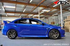 "ARK GT-F Lowering Suspension Springs Mitsubishi Evo X 10 Drop 1.00""-1.25"""