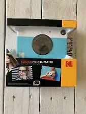 Kodak Printomatic Digital Instant Print Camera - Blue - OPEN BOX