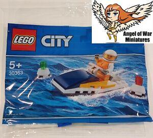 LEGO NEW Polybag 30363 City Race Boat Jetski (2019)