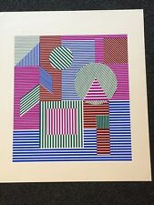 "VICTOR VASARELY ""Fondau""  Serigraph Unframed Signed Numbered"