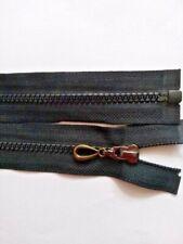 Reißverschluss teilbar Zahn 6 mm Kunststoff für Jacke 32.33..84 cm Farbe schwarz