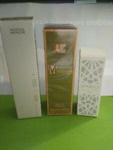 M&S  Eau de Toilette 30ml - SPARKLE 10ml - Mandarin Eau De Toilette 50ml