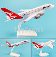 Qantas Airways Australia Airbus A380 Airplane 20cm Solid DieCast Plane Model