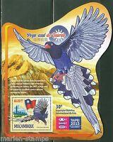 MOZAMBIQUE BIRD TAIPEI STAMP EXHIBITION 2015  SOUVENIR SHEET  MINT  NH