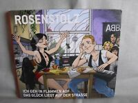 Rosenstolz- Ich geh in Flammen auf/Das Glück liegt a.d.Str.-5-Track-MCD- Digipak