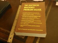Electrical Machines Problem Solver by Research and Education Association...