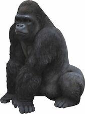 Gorilla Silverback 54cm Large - Lifelike Garden Ornament or Indoor Real Life NEW