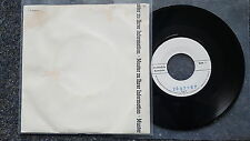 Saxon - Back on the streets 7'' Single Germany PROMO