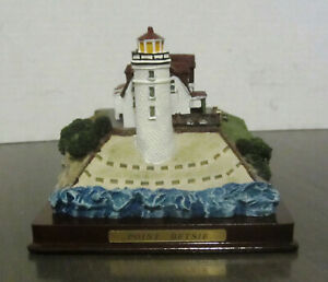 Michigan Lighthouse Series Gallery Collection Point Betsie Crafted To Scale