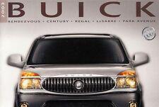 BUICK Rendezvous Century Regal LeSabre Park Avenue Prospekt USA 2003 +++++++++++