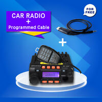 Zastone MP-300 20W MINI Moblie Transceiver Car Radio MP300 With Programmed Cable