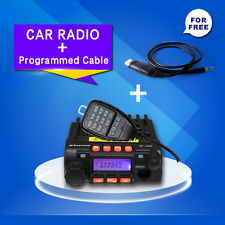 Zastone Mp-300 20W Mini Moblie Transceiver Car Radio Dual With Programmed Cable