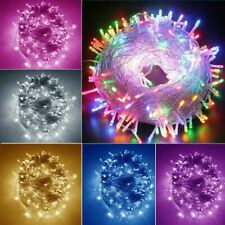 Muti-Color 10-20m 1000LED Indoor&Outdoor String Lights For Party&Christmas USA