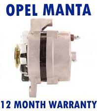 OPEL MANTA B - CC 1.8 S SALOON COUPE 1982 1983 1984 - 1987 ALTERNATOR