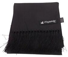 Knightsbridge Mens Black 100% Silk Aviator Scarf …