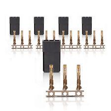 JR Graupner Uni Connector Connector Gold Contacts 5 pcs. partcore 100067