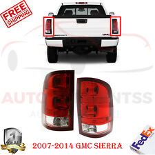 Pair Of Tail Lights Assembly For GMC SIERRA 1500 07-10/12-13  2500 3500 07-14