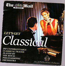 Promo CD, Poyal Philharmonic, Lets get Classical, 20 Tracks