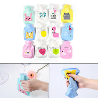 Cute Mini PVC Hot Water Bottle Bag Hand Warmers Winter Warm Home Office  GZ