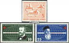 DDR 568,572-573 postfris 1957 Speciale postzegels