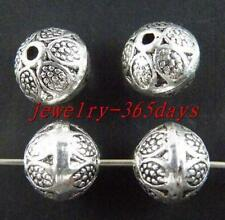 20pcs Tibetan Silver Nice Bicone Spacer Beads 9.5x8.5mm 1161