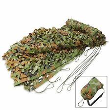 Classic Safari Camouflage Camo Net Camping Hunting 6 1/2' x 10' With Storage Bag